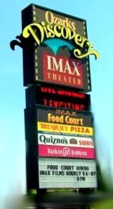 Branson IMAX sign