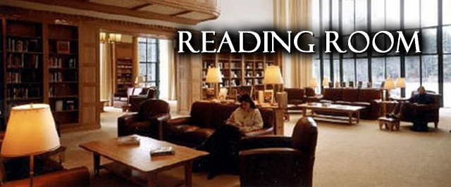 Reading Room at Ohrstrom Library