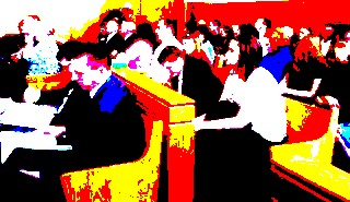 Crowded Courtroom