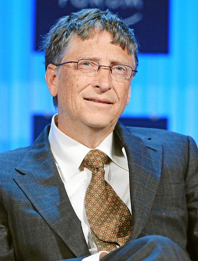 Gates, after his nose job