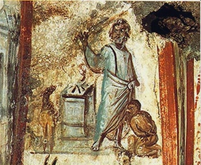 Painting of Abraham